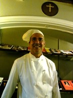 Rev. Jack Lau, OMI, Chef. Graduate, Culinary Institute of America