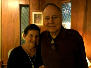 John and Gee-Gee Whitehurst, pictured at the Oblate Novitiate, Godfrey, Illinois, October 11, 2014